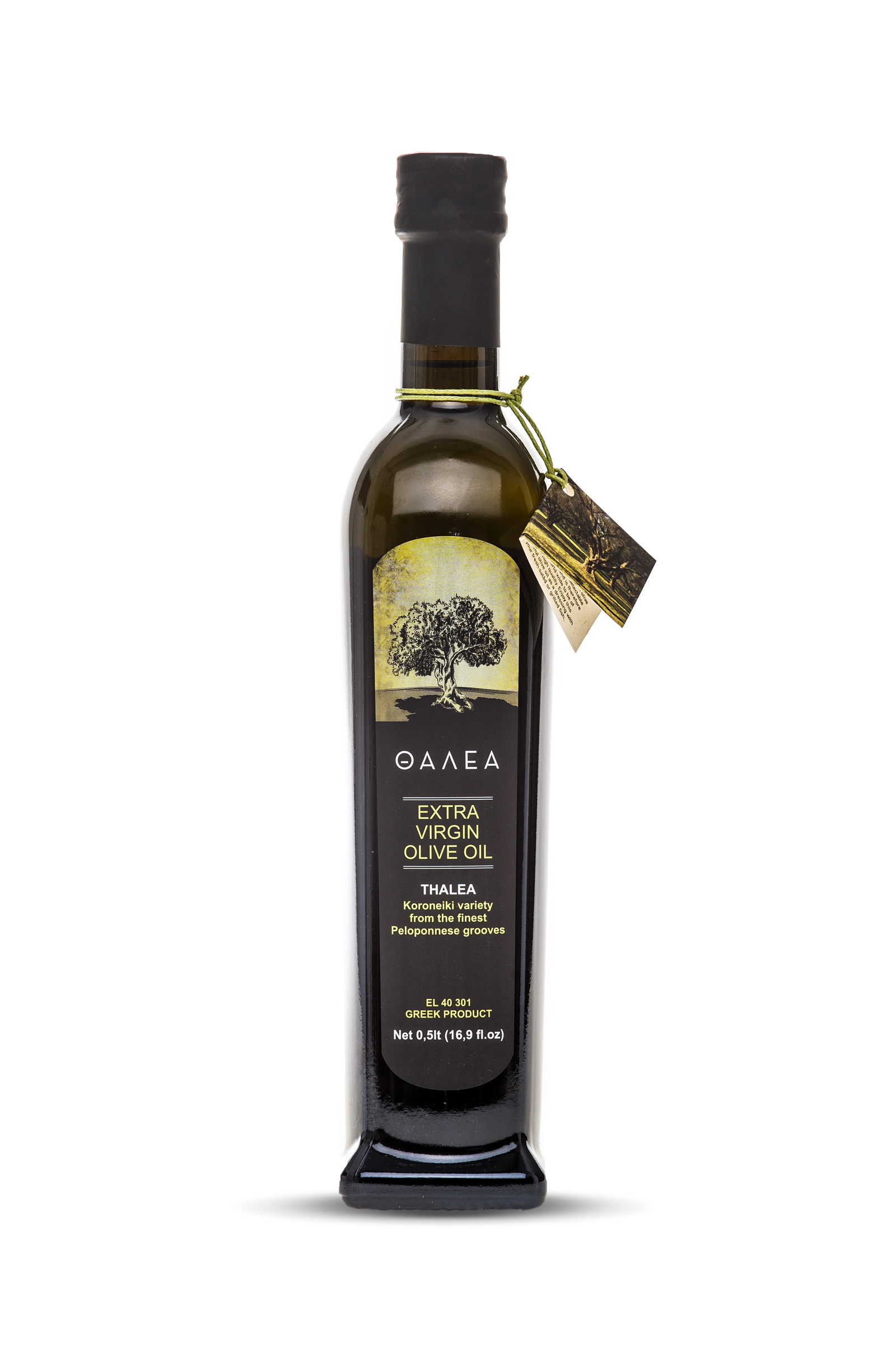 Extra virgin olive oil Thalea Bottle
