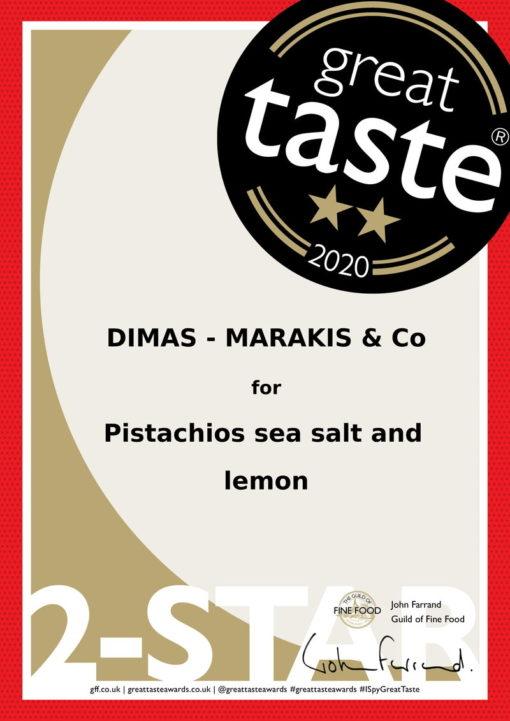 Shell Pistachio Taste award 2020